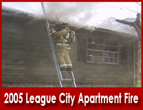 2005 League City Apartment Fire