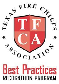 Texas Fire Chiefs Associatioin Best Practices Recognition Program Seal