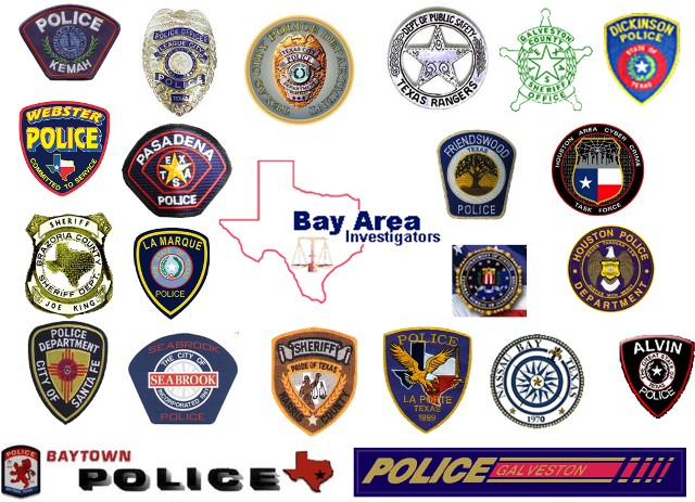 Bay Area Police Badges