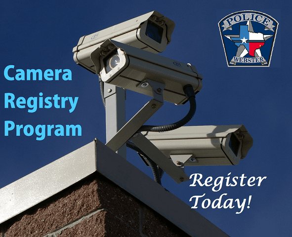 Camera Registry Program - Register Today