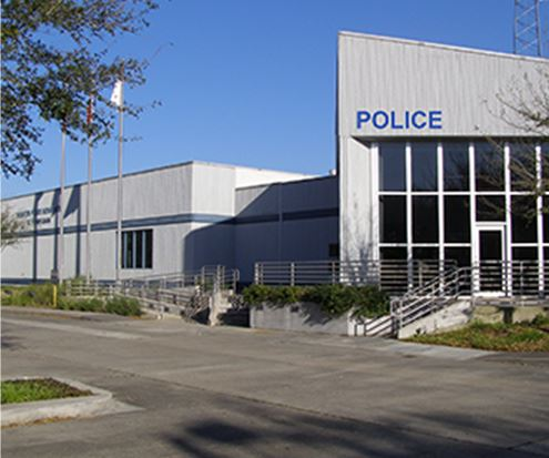Police Station Exterior