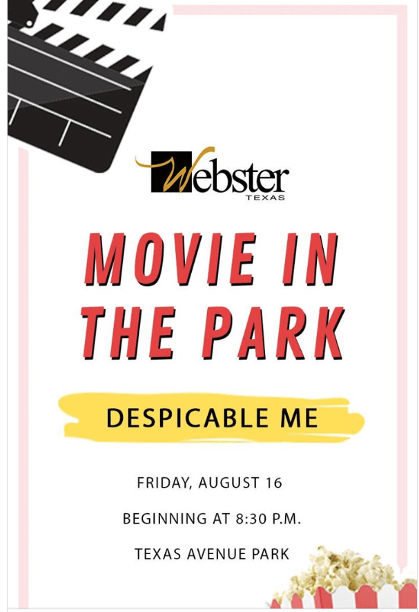 Movie in the Park Aug 16