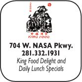 King Chicken 548 W NASA Parkway 281-316-9555