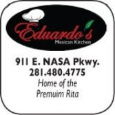 Eduardos Mexican Kitchen, 911 E. NASA Parkway, 281-480-4775