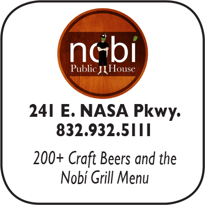 Nobi Public House, 241 E Nasa Pkwy, webster, 832-932-5111