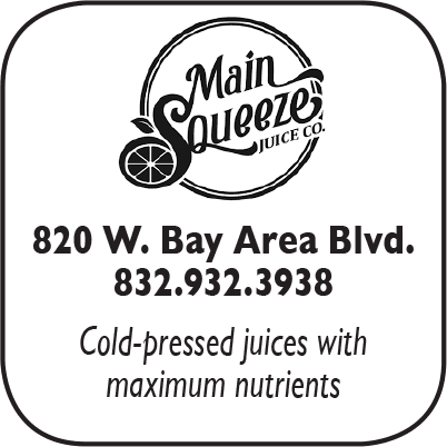 Main Squeeze, 820 W Bay Area Blvd.