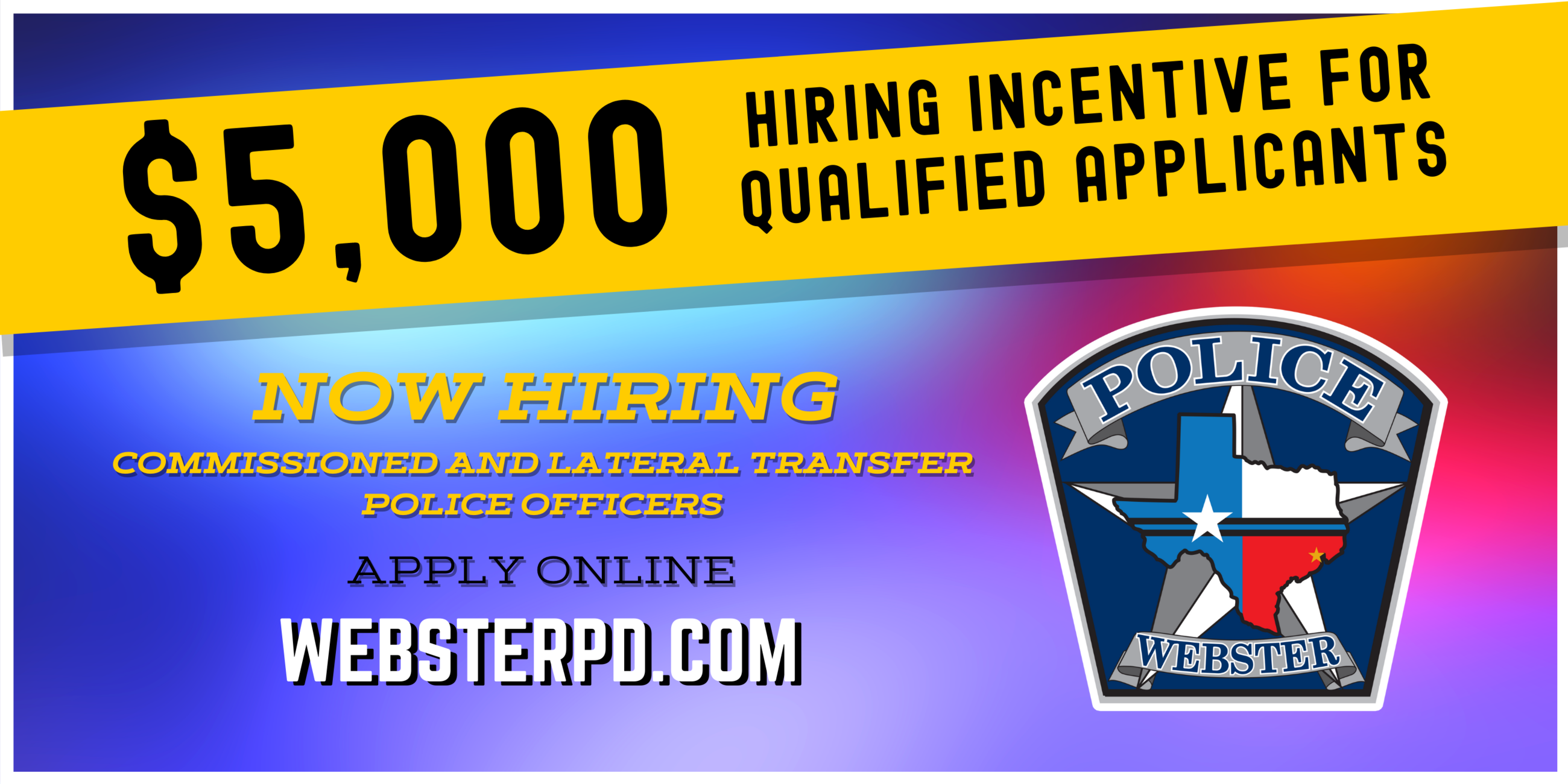 NOW HIRING Incentive PD-6