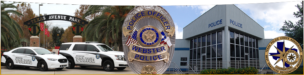 Webster Police Department Banner