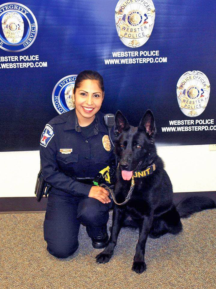 Officer Muniz and K9 Puio